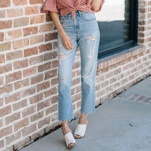 Madewell The Perfect Vintage Light Wash Jean